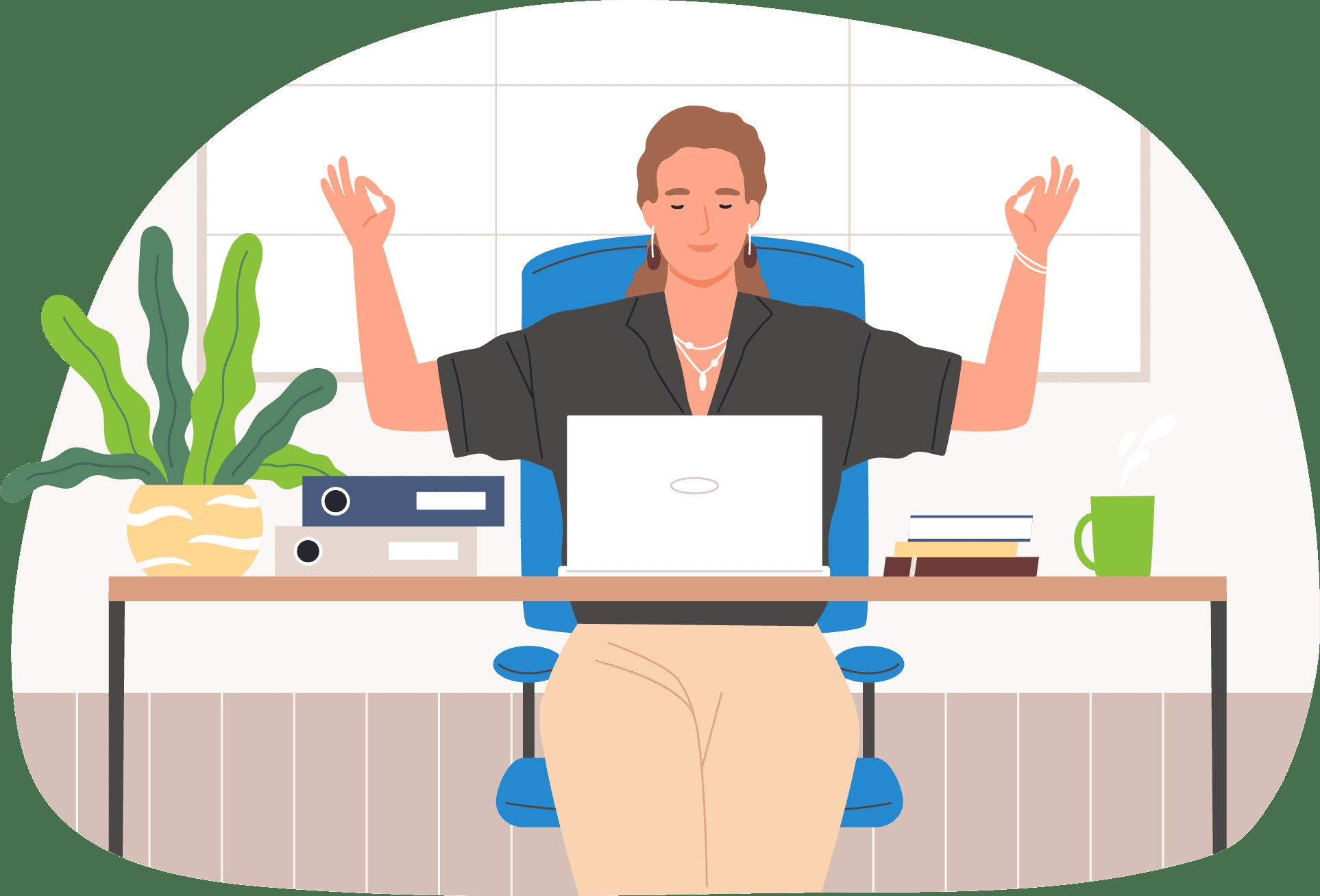 Travailler confortablement de chez soi